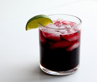 A dilution of red wine by cola, which is the most prevalent alcoholic beverage known to trigger rosacea symptoms. The caffeine in cola is not a rosacea trigger as once thought so presents no risk to patients.