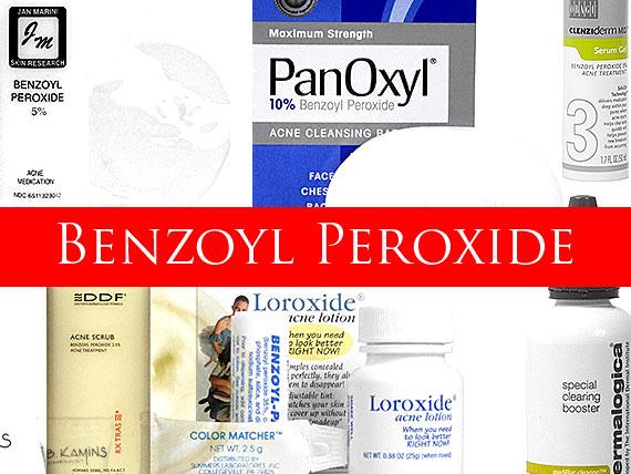 Poor Medicine: Rosacea Treatment with Benzoyl Peroxide<i>