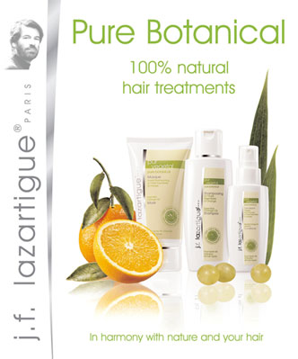 Sulphate-free shampoo from the J.F. Lazartigue Pure Botanical Collection.