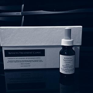 Antioxidant Serums used on advanced Rosacea Treatment.